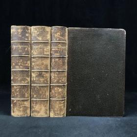 1887年 莎士比亚作品集(全3卷) 全真皮精装32开