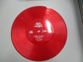 中国唱片社出版 薄膜老唱片一张 歌曲《渔家谣、采蘑菇的小姑娘、在那桃花盛开的地方 等》有歌唱家、作家、书法家郁钧剑 葛军等演唱 尺寸25/25厘米