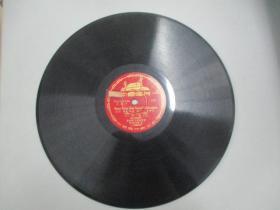 中国唱片社出版 老唱片一张 文献片 汉语拼音字母教学留声片《声母 中 下》 尺寸25/25厘米