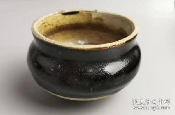 宋代黑瓷缽式香爐
