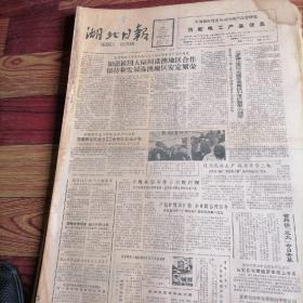 湖北日报合订本1987一4