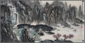 刘宝纯,山东画院院长,山水