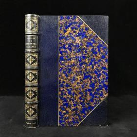 【法语】工坊特装本 1880年 德斯福尔热诗集 配原品铜版画插图