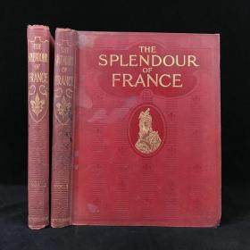 约20世纪初 法国的辉煌(全2卷) 千余幅插图 漆布精装大16开