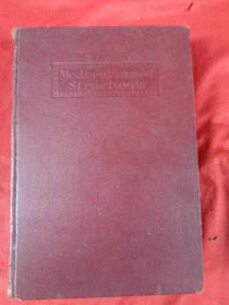 民国外文精装本《书名不祥》1916年,1厚册全,大32开,486页,品好如图。