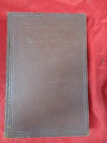 民国外文精装本《书名不祥》1916年,1厚册全,大32开,410页,品好如图。