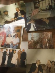 名人老照片一批 未发表 有姚雪垠 费翔,周韶华,郭友中,裘法祖,邓垦,程恩远,时恩卿等 一共七张