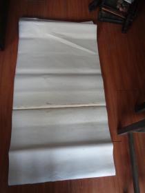 老宣纸一刀,年代不祥,长69cm140cm,重近6斤,品好如图。