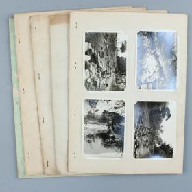 著名连环画家、美术编辑家 王亦秋 旧藏人像照片 两册三十四张,外景照片一册二十七张,兰亭照片一册三十二张,古器照片一册三十九枚 HXTX319894