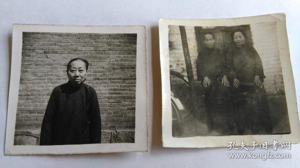 早期影像照片2张。