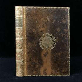 特装本 1897年 麦考莱勋爵《古罗马谣曲集》 41幅精美版画插图 全真皮精装32开