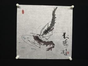9-01-21中国美术家协会会员国画50*50厘米