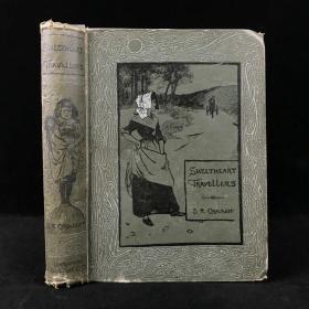 1895年 克罗克特《甜心旅行者》 布朗温数十幅精美插图 漆布精装大32开