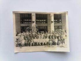 """1984年照片""""全国高校图书馆藏书建设研究会"""""""