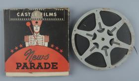 1939年 卡斯特尔公司电影公司出品 《世界新闻》16mm电影胶片一件(此为《世界新闻》新闻短片集锦的16mm拷贝,含日军在天津租界制造危机、封锁租界、天津水灾等内容;此为记录日军侵华罪证的珍贵影像资料!可播放)HXTX319350
