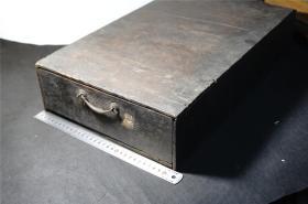 【木刻板 古佛经】 《糅纪》一老木箱14册(江户期 和刻本)。。大开本,