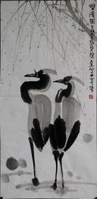 【张乃田】蚌埠社会主义学院副院长,安徽省书法家协会副主席,安徽省文史研究馆馆员。花鸟