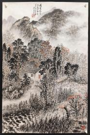 中国美术家协会会员,中国画学会理事【王永亮】山水
