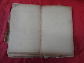 中医手稿本,1厚册,70年代,16开,30面,品如图。