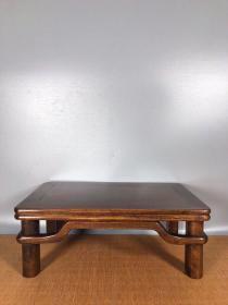 旧藏花梨木木雕坑桌小木桌
