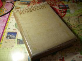 孤本经典画册 1937 年 全图本    THE PAINTINGS OF REMBRANDT (伦勃朗的绘画)  内有伦勃朗639幅黑白作品。 THE PHAIDON PRESS