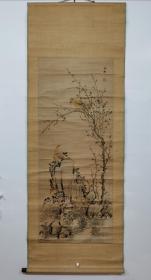 【海仙】,海僊,王赢(1785-1862)生于清乾隆50年,卒于同治元年,享年78岁,清代画家,浙江余杭人。
