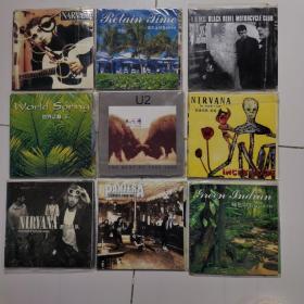 九张CD一起拍