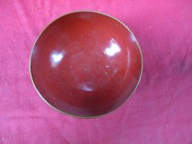 民國脫胎碗1個,直徑11cm,高6cm,品好如圖。