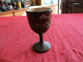 民国脱胎酒杯一个,直径5.5cm,高9.6cm,品好如图。