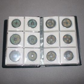 铜钱古代钱币册60枚品相如图