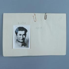 约六七十年代存档《刘志丹》《李子洲》《陕北革命根据地工农红军安塞区赤卫队第二大队队旗》等老照片 五张(旁边有手写注释,照片尺寸8*5.8cm)HXTX320249
