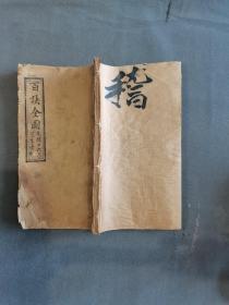 清石印手诀 光绪十六年夏季出版  太上至宝灵真诀  42页84面  一册