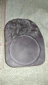 易水砚一方。详细品相如图。保真原石。尺寸17.5✘13✘3