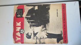抗战画报  YANK 1945年 有中国战争图画 20页8开品一般有破损