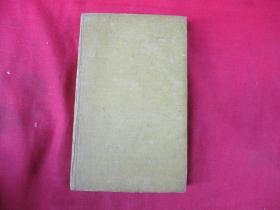 民国外文版精装本,1册全,书名不祥,32开,256页,品好如图。