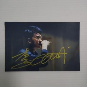 32】男演员 签名照片一张 尺寸15×10厘米