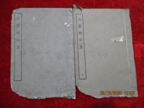 线装书《玉台新咏集》清,2册(卷1----8),白纸精印,品好如图。