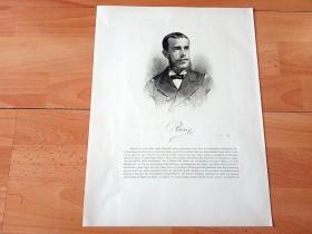 1884年铜版蚀刻版画《奥匈帝国王储,鲁道夫·弗兰茨·卡尔·约瑟夫肖像》(Der Kronprinz erlegt einen Ichneumon)-- 出自19世纪奥地利画家,保辛格(Franz Xaver von Pausinger)绘画作品 -- 鲁道夫(1858-1889),奥匈帝国皇帝弗兰茨·约瑟夫一世和茜茜公主的独子 -- 奥地利维也纳艺术画廊出版发行 -- 版画纸张38.5*29厘米