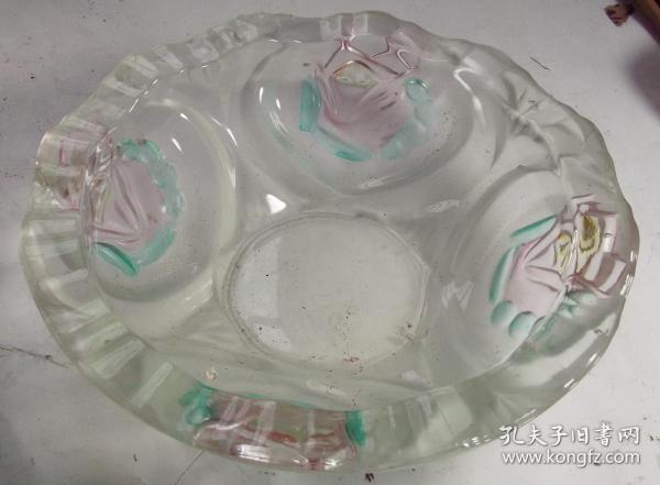 漂亮的琉璃果盘