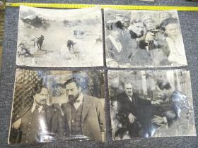 """早期大幅老照片:外国电影剧照""""锦绣前程""""等,共44张合拍。【尺寸:38x 22厘米】品如实图!"""