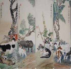 【刘蔷】著名女画家,深得祖父刘奎龄、父亲刘继卣两代画坛名宿的嫡传亲授,成为扬名海内外的刘门第三代画家.花鸟