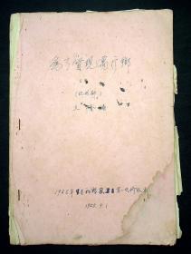 1958年昆剧家顾文勺初稿修改本《为了实现万斤乡》32页