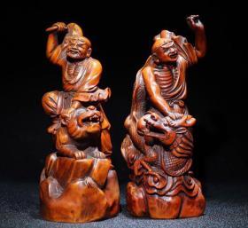 黄杨木木雕罗汉