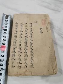 清代医书精美巾箱抄本丝线装订,2本一套全,58篇。抄写精美,字字美丽。可做字帖。有原盖收藏印