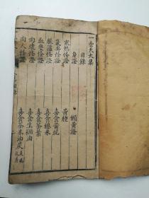 稀见中医,一壶天太集,蜀北高渠处士杨体仁生庵纂辑。
