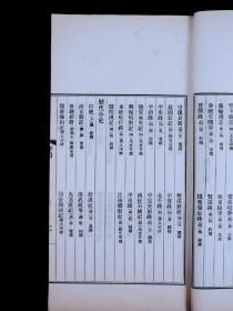 民国上海商务印书馆精印【影印元明善本丛书十种样本】原装大开本一册全,精美书影少见。品如图。