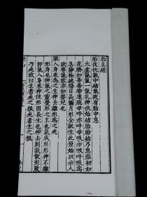 民国影印万历版【胎息经】【邇言】【郁離子微】【華川后辞】四种珍贵古籍一册全。内容记述广博,《胎息经》是我国古代气功文献中的精品。尤其珍贵。精美白纸,薄若蝉翼。大开本27厘米X15厘米,品相上佳!