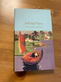 吉卜林诗选 英文原版 Selected Verse 无划痕。如新。三边刷金。小开本。收藏