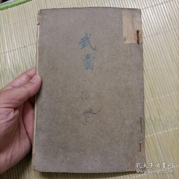 民国时期武术书《太极拳术》,杨澄甫太极拳,武术图片很多