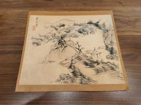"""贯名海屋(1778—1863),名苞,字君茂,别号海仙、海客、林屋、海屋、海叟、菘翁、房竹山人、须静堂主人等。是日本江户时代末期的儒学家,其书法一改江户时代中期白隐慧鹤、良宽等书者对""""尚意""""书法精神的追求。与市河米庵、卷菱湖并称为""""幕末三笔"""",被后世尊为""""近世日本的书圣"""""""